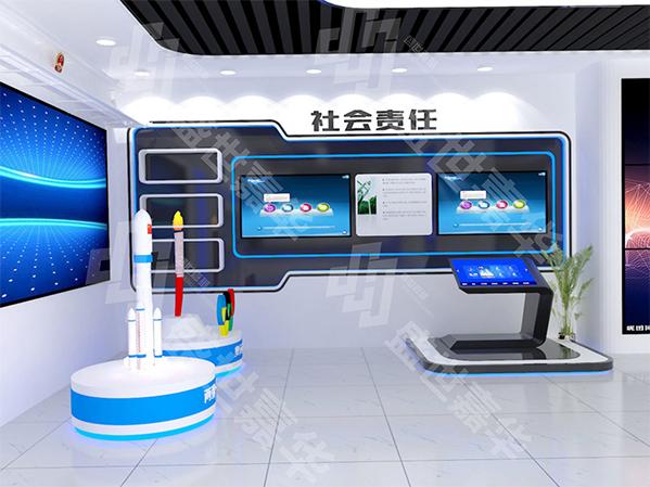 东方电子展厅设计