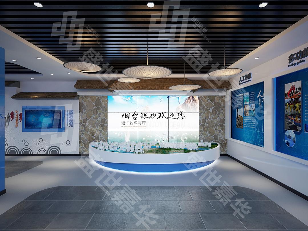 银礁展厅设计