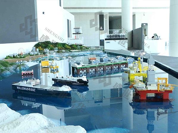 中集海洋工程研究院展厅设计