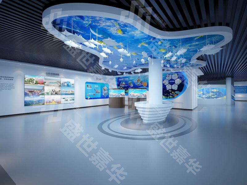 东方海洋展厅设计